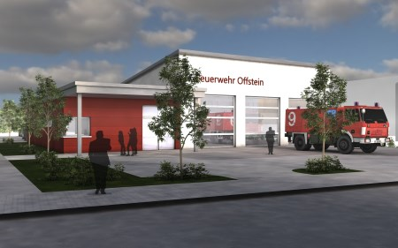 23.02.2016 Neubau Feuerwehrhaus